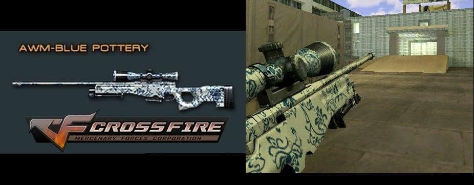 AWM Blue Pottery Crossfire