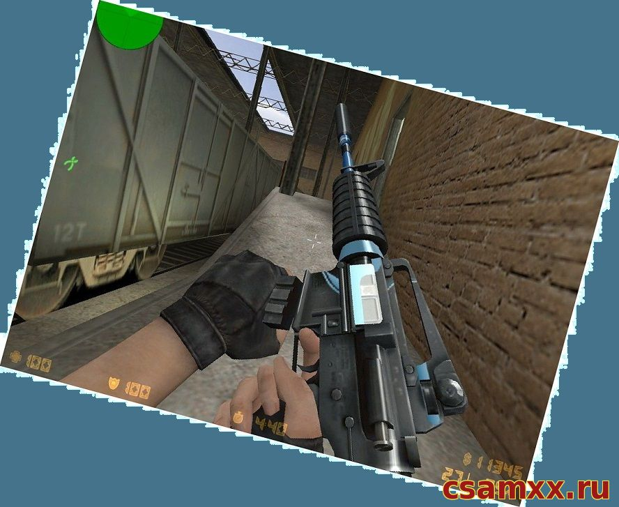 Скачать M4A1 для кс 1.6 Blue Force Imitation
